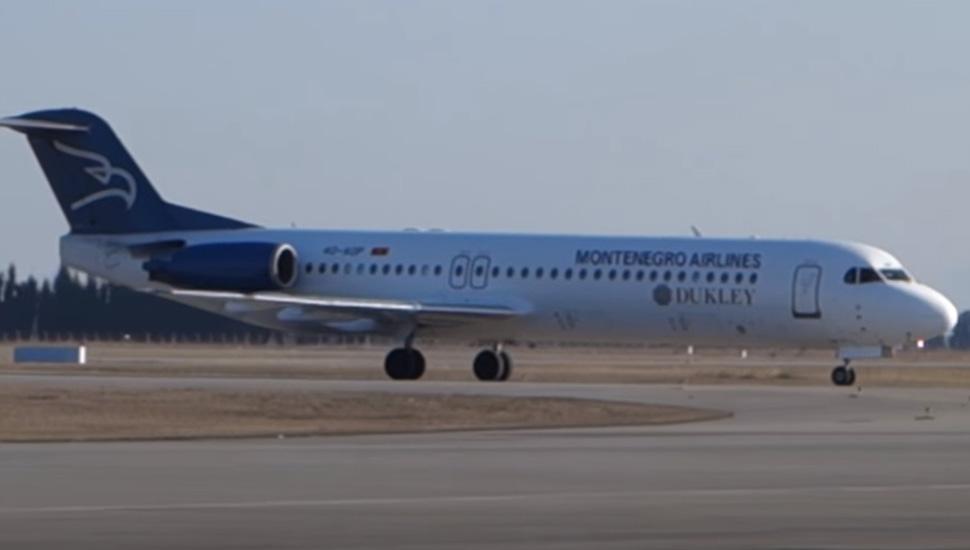 Montenegro airilnes avion