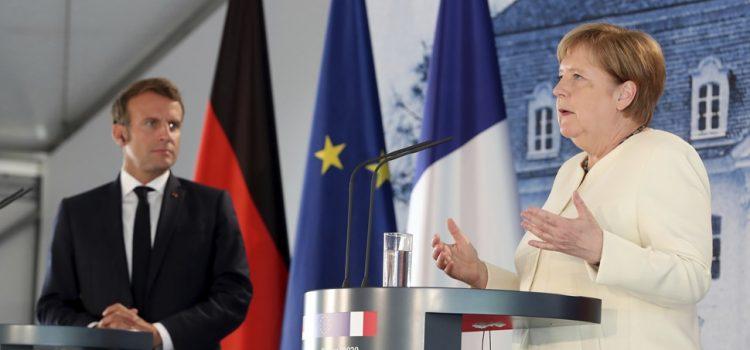 TRENUTAK ISTINE ZA EVROPU Merkel i Makron za što hitnije usvajanje predloga za oporavak