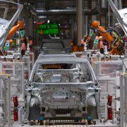 Pad industrijske proizvodnje u aprilu u Nemačkoj