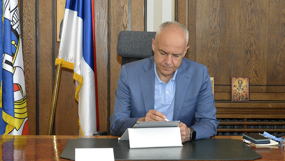 Zoran Radojičić, gradonačelnik Beograda