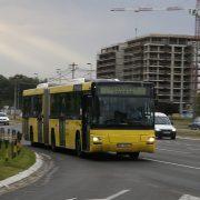 Zaustavljena nabavka 100 zglobnih autobusa za GSP