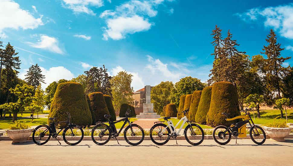 bicikli u parku