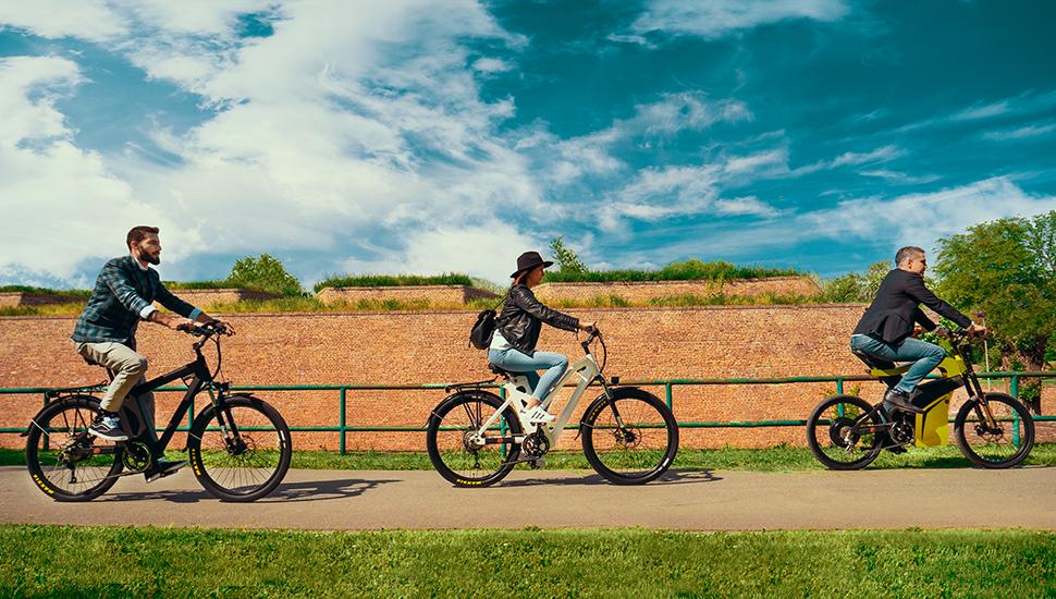 Vožnja na električnom biciklu