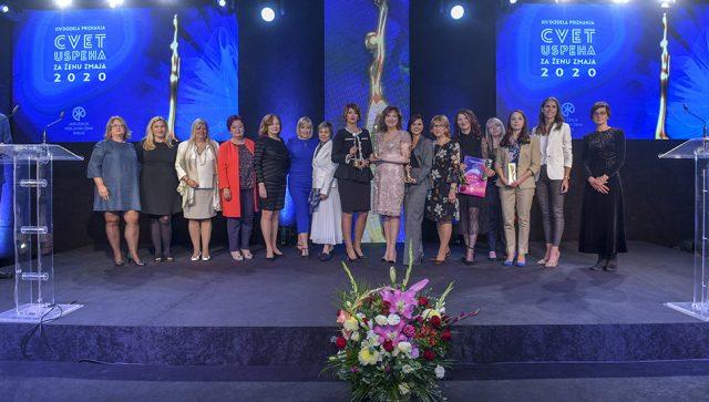 "NAGRAĐENO DEVET NAJUSPEŠNIJIH PREDUZETNICA Titula ""Žena zmaj"" je vetar u leđa svim damama koje se bave biznisom, kaže za Biznis.rs, predsednica Udruženja poslovnih žena Srbije"