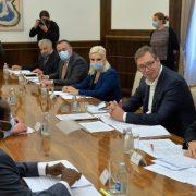 REFORMA JAVNOG SEKTORA DOPRINEĆE PRIVREDNOM RASTU SRBIJE, ocenjeno u razgovoru Vučića i delegacije Svetske banke