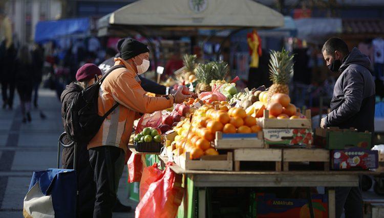 Cene povrća na pijacama će rasti sve dok potrošači mogu da plaćaju
