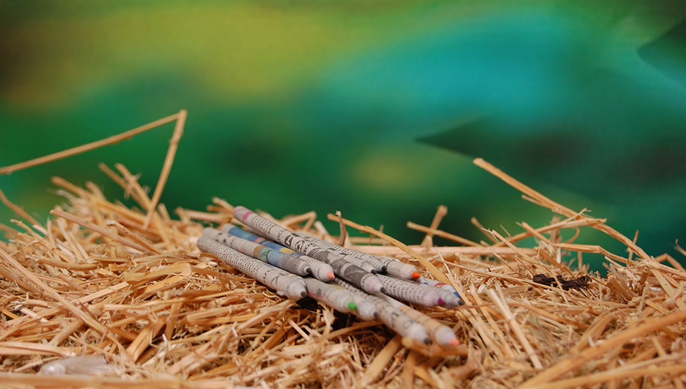 Olovke, bojice i bojanke od recikliranog materijala