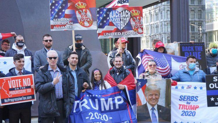 SRBI POSTAJU BITAN FAKTOR U AMERIČKOJ POLITICI Glasovi naše zajednice u SAD mogu da budu od velike pomoći Trampu da osvoji još jedan predsednički mandat