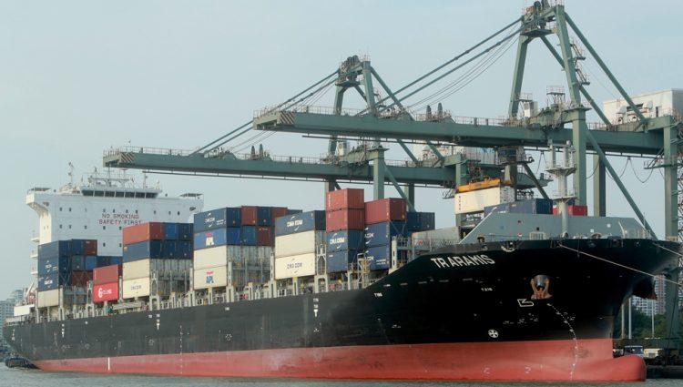 Cene brodskog transporta za godinu dana porasle šest puta