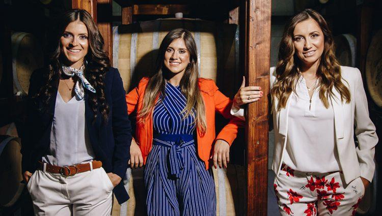 TRI SESTRE ČVRSTO KORAČAJU PUTEVIMA VINA Dame koje se odlično snalaze u vinogradima