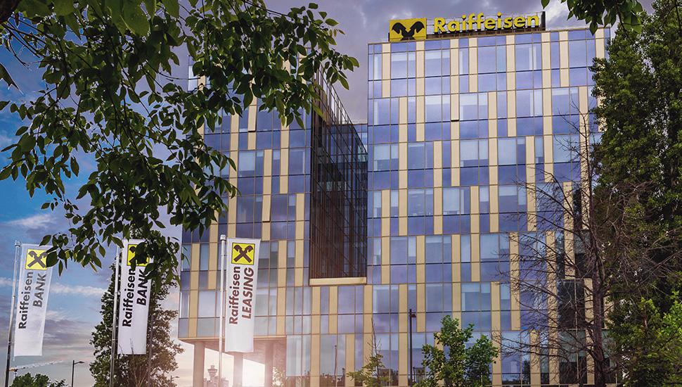 Zgrada Reiffeisen banke u Beogradu