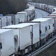 Gužva na nemačkoj granici, kamioni čekaju satima