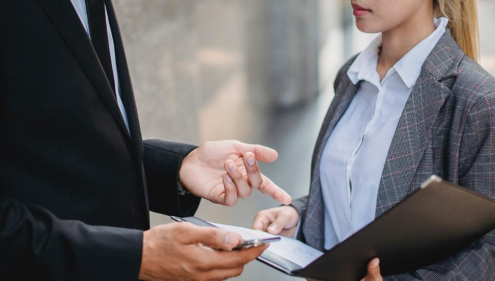 Razgovori poslovnih ljudi