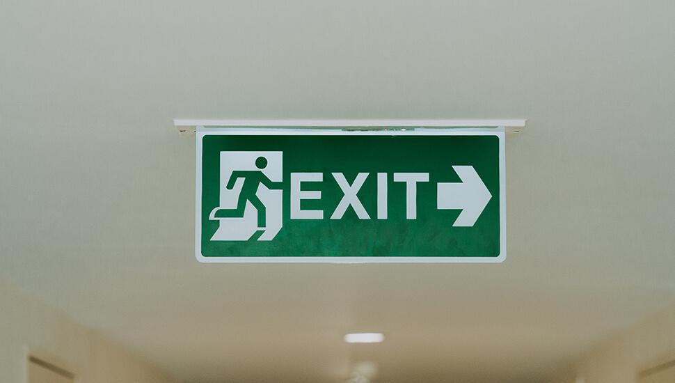 Izlaz znak