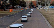Roboti dostavljači doživeli uspon zbog pandemije