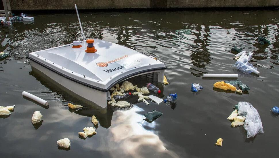 WasteShark plutajući dron