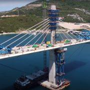 Kinezi će tražiti još 60 miliona evra za Pelješki most?