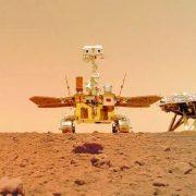 """Rover """"Bog vatre"""" pokazao kinesku zastavu na Marsu"""