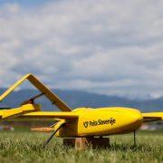 Isporuka pošiljki dronovima na testu u Sloveniji