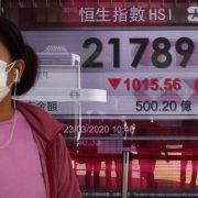 Pad vrednosti akcija kineskih tehnoloških kompanija